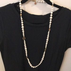 Tory Burch Pearl Necklace